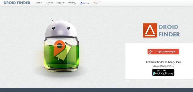 ردیابی، دسترسی و پاکسازی دستگاه اندرویدی مفقود شده با Droid Finder