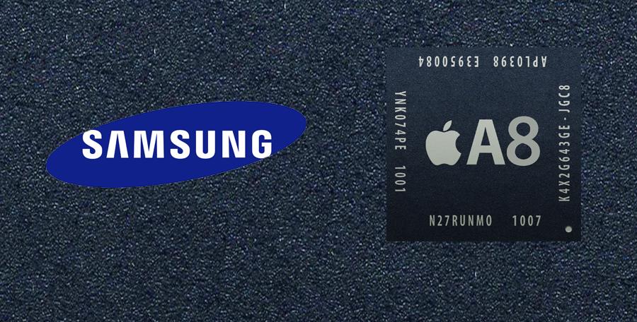 سامسونگ و TSMC هر دو با هم روی پردازنده A8 کار می کنند!
