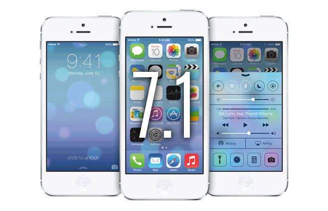 اپل از جیلبریکرها برای کمک به ایمن تر کردن iOS7.1 نام برد