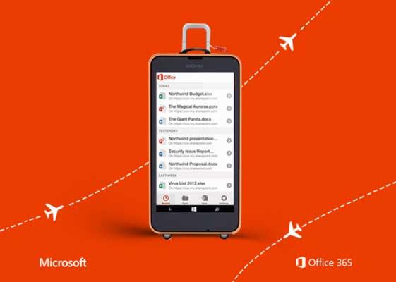 نسخه جدید اپلیکیشن Office ویندوزفون احتمالا شبیه به نسخه iOS خواهد بود