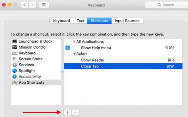 حل مشکل کلید Command+W در مرورگر سافاری برای بستن تب جاری بجای کل مرورگر