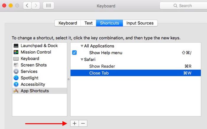 حل مشکل کلید Command+W در مرورگر سافاری