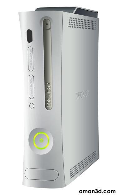 طراحی ایکس باکس360 مایکروسافت در فتوشاپ