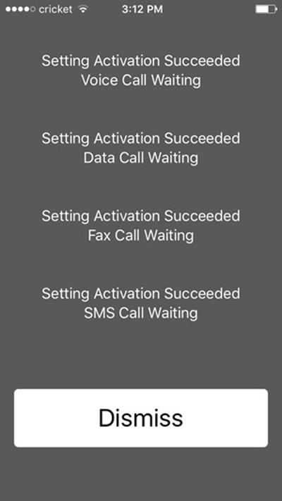 Code Mobile USSD secret information.