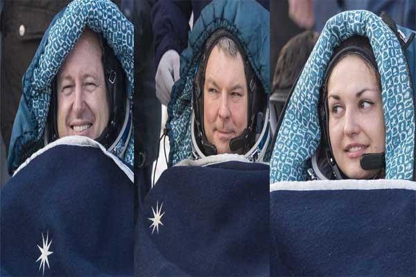چهارمین فضانورد زن روسی از فضا بازگشت