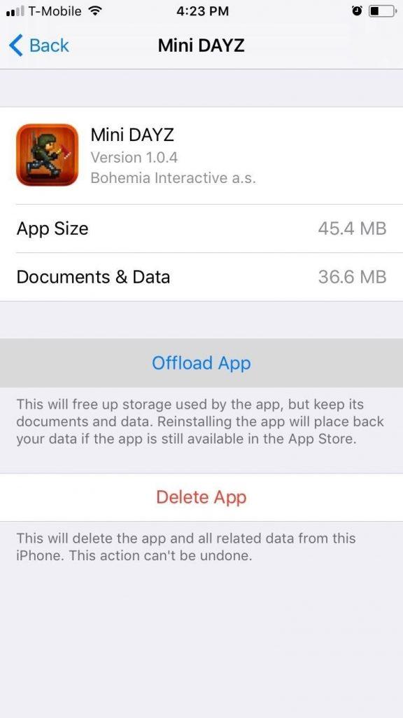 حذف بار اضافی اپلیکیشنها برای صرفهجویی در فضا