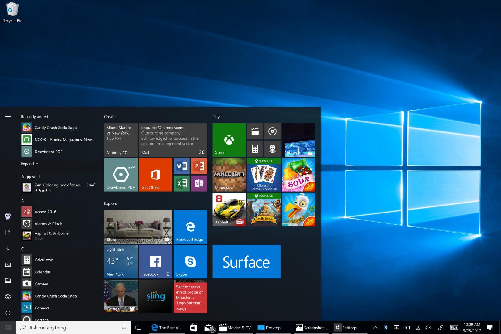 Windows 10 Professional N