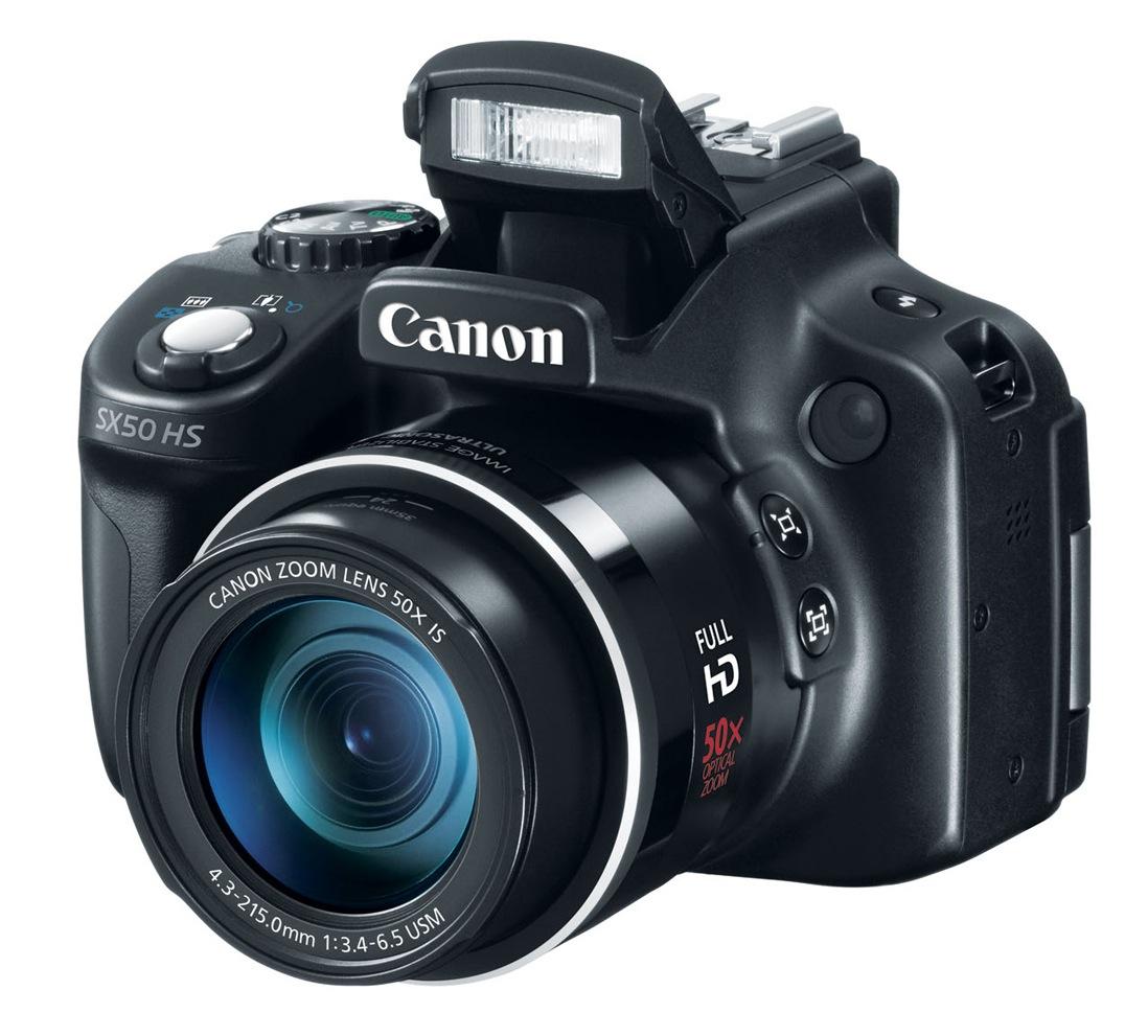 4 دوربین عکاسی جدید توسط Canon معرفی شد، G15، S110، SX50 HD و EOS 6DCanon PowerShot SX50 HS