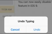 چگونه قابلیت Shake to Undo را در iOS 9 غیرفعال کنیم
