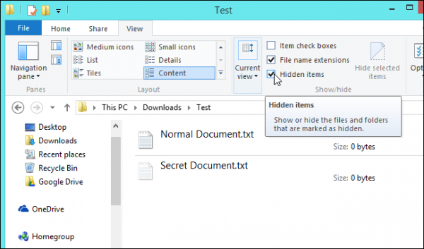 چگونه فایل ها و اسناد را در ویندوز مخفی کنیم؟
