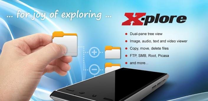 نقد و بررسی نرم افزار مدیریت فایل X-plore File Manager