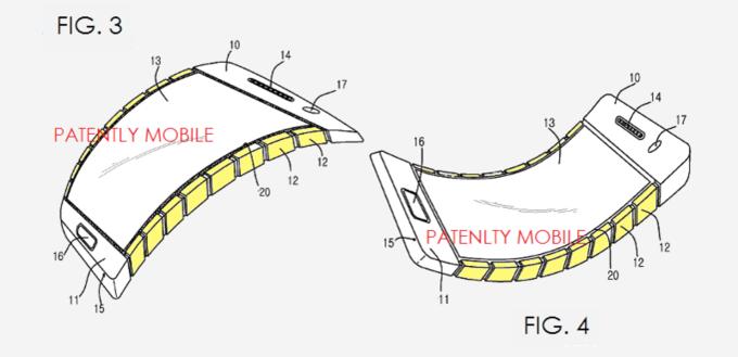 سامسونگ می خواهد یک تلفن همراه با صفحه نمایش و بدنه ای انعطاف پذیر بسازد