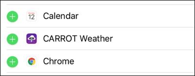 7 rearrange your lock screen widgets ios 10 چگونه موقعیت ویجتهای Lock Screen را در iOS 10 تغییر دهیم؟ اخبار IT