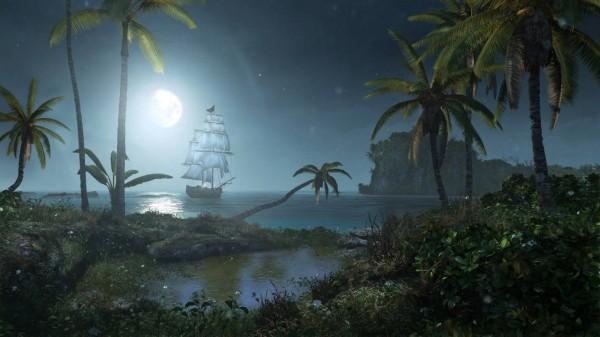 یک شب آرام در دنیای دزدهای دریایی