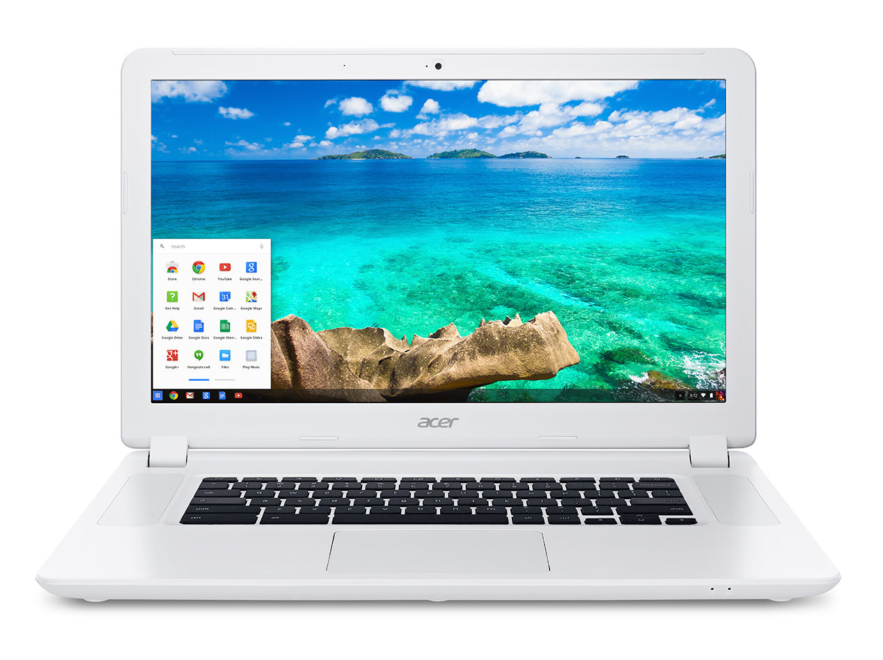 Acer-Chromebook-15-CB5-571-white-front-SO-with-start-bar
