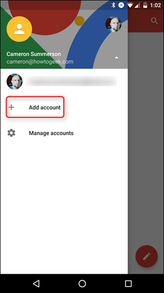 Add an Account from Gmail