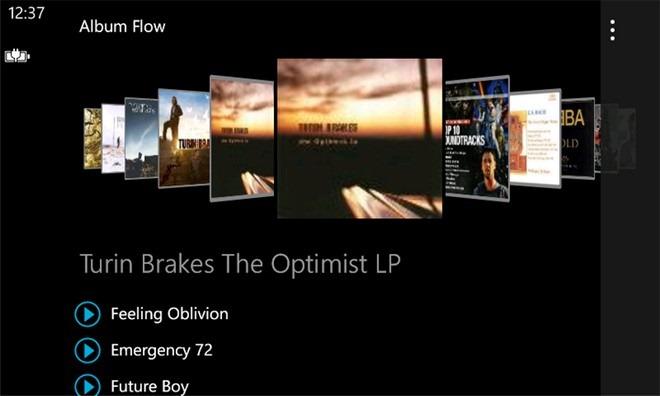 یک پخشکننده موسیقی زیبا برای ویندوز فون شما