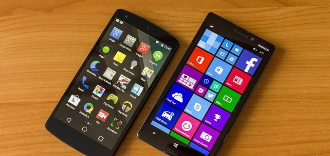 مقایسه Android L و Windows Phone 8.1، کدام یک بهتر است؟
