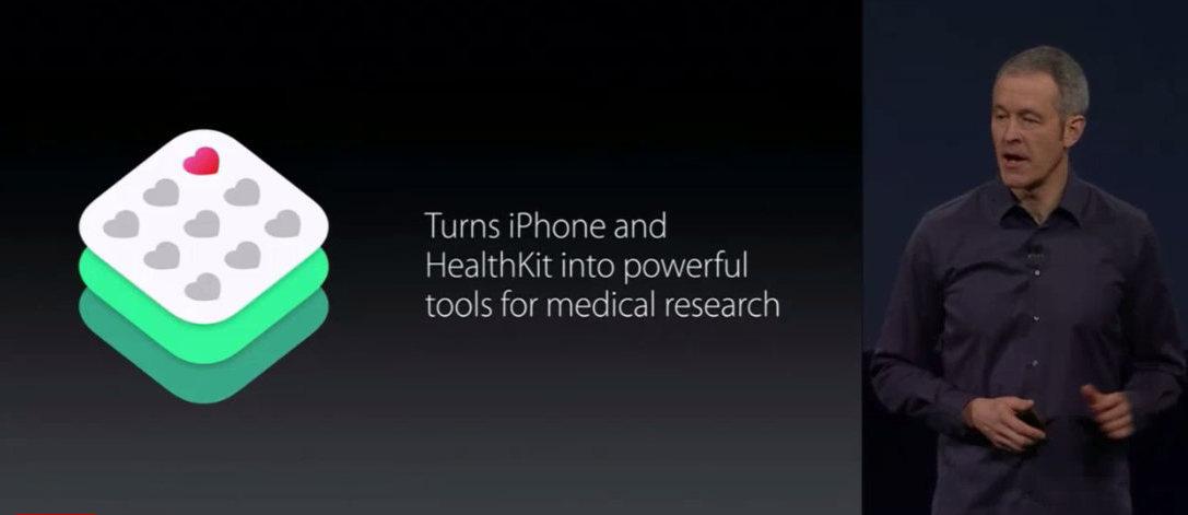 اپل سرویس ResearchKit را معرفی کرد، تبدیل آیفون به دستگاه تحقیقات پزشکی