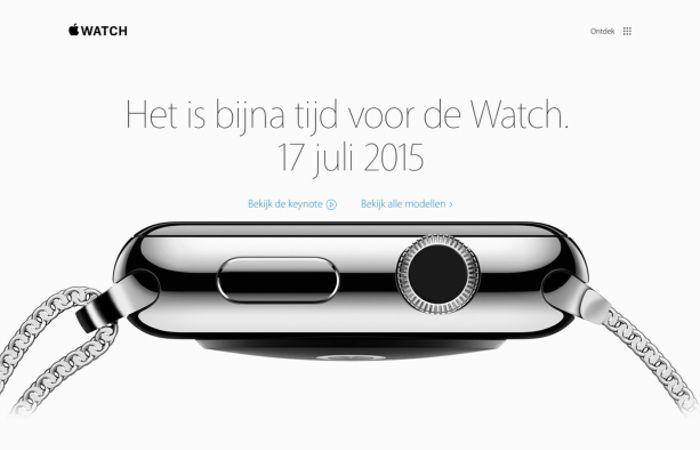 اپل واچ در تاریخ ۲۶ تیر ماه در هلند، سوئد و تایلند عرضه می شود