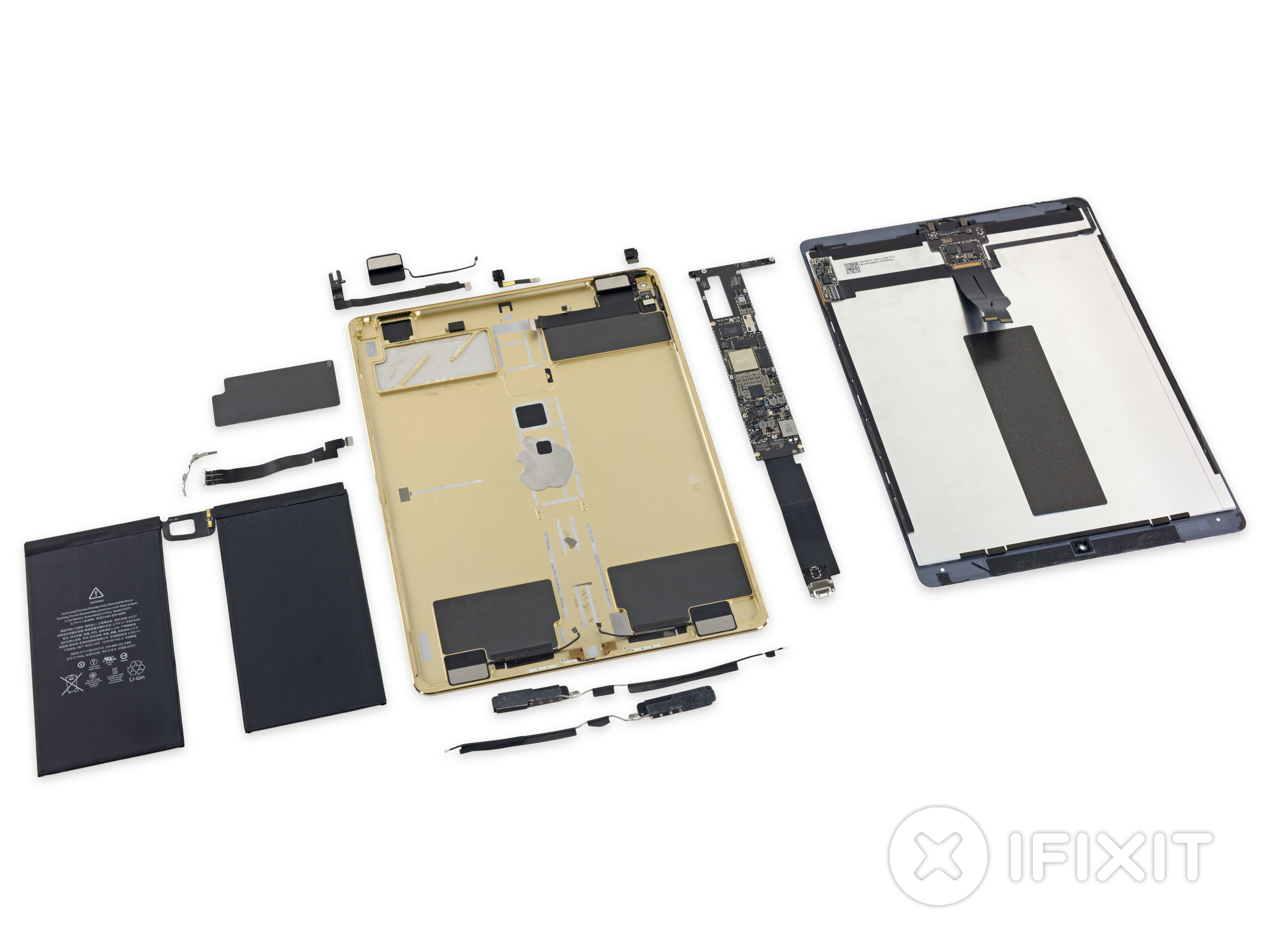 Apple-iPad-Pro-teardown-by-iFixitw