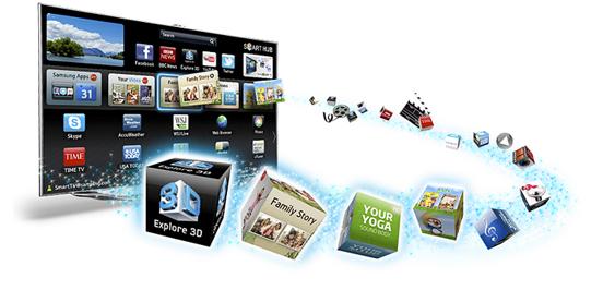 معرفی نرم افزارهای محبوب تلویزیون هوشمند سامسونگ