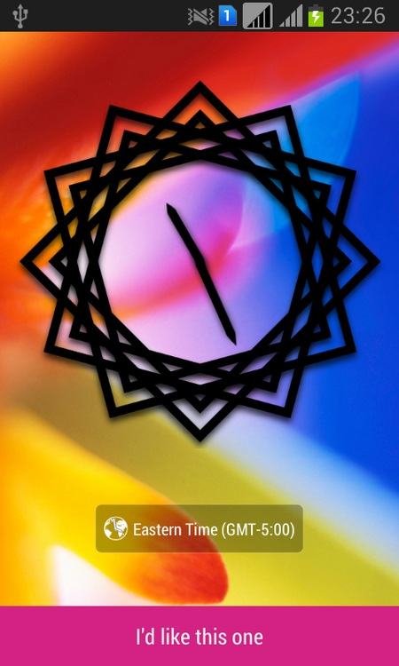 Art-Clock-Widget