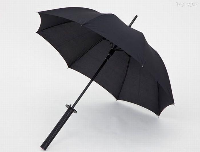 بستن چتر به صورت وارونه + فیلم