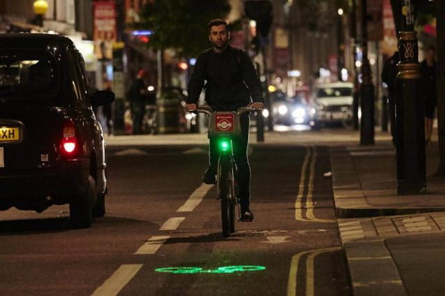 دوچرخه های لندن از این پس لیزری می شوند