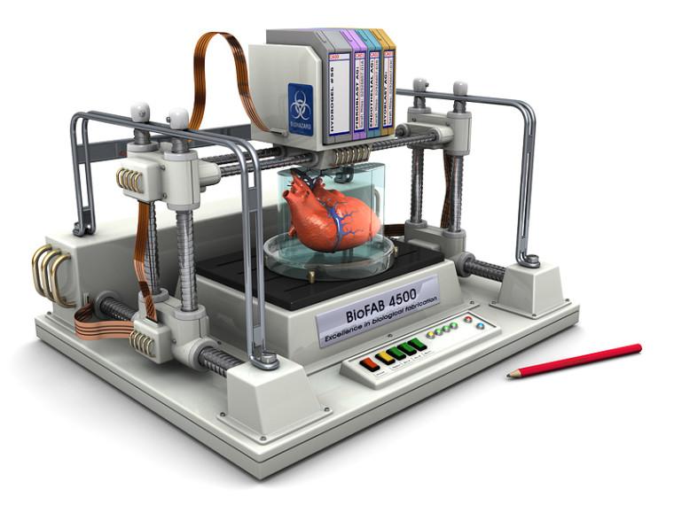 یک قلب تازه نیاز دارید؟ پزشکان به زودی با کمک چاپ سه بعدی اندام بدن را تولید می کنند