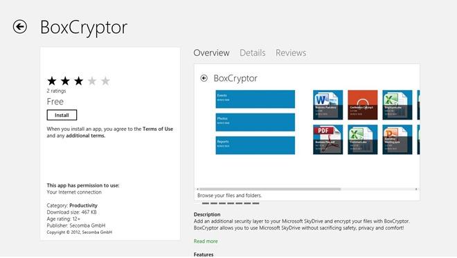 BoxCryptor ویندوز هشتی اینبار با امنیت بالاتر