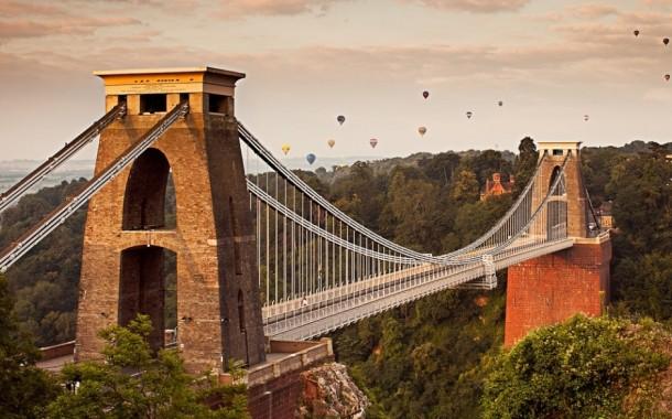 پل کلیفتون نماد بریستول در انگلستان