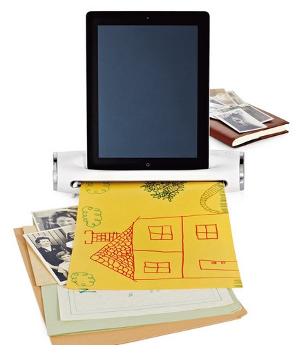 Brookstone-iConvert-Scanner-Transforms-your-iPad-into-Scanner