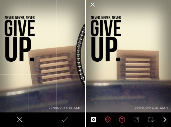 Camu  All-In-One Photography App Offers Live Editing, Filters   Text (1)