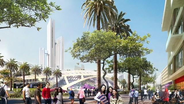 رونمایی از یک طرح بلند پروازانه برای ساخت پایتخت جدید مصر