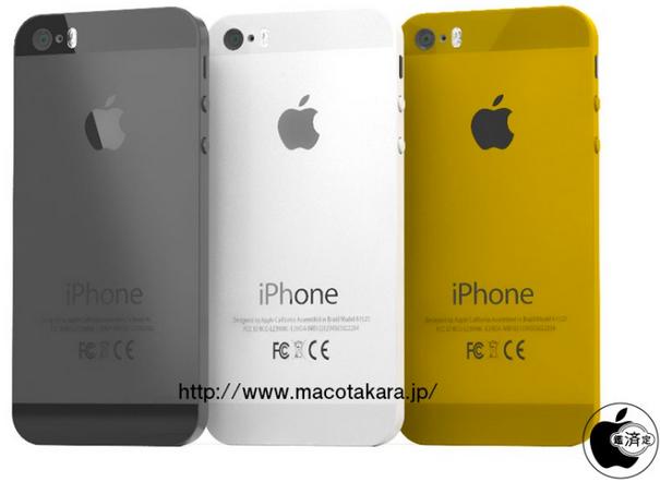 اپل نام iPhone 5C را برای آیفون ارزان قیمت برگزید+رنگ طلایی نیز به رنگ های موجود iPhone 5C اضافه گشت