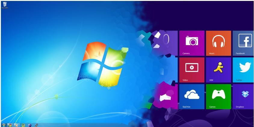 بسته ی تبدیل ظاهر ویندوز 7 به ویندوز 8