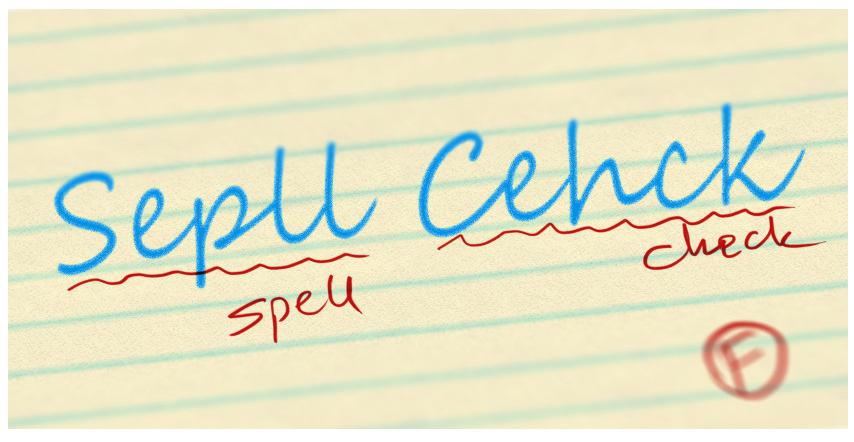 چگونه یک نوشته را بدون استفاده از برنامه ، spell check کنیم؟