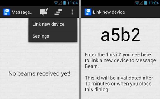 تبادل متن و لینک بین کروم و اندروید به یاری اپلیکیشن Message Beam
