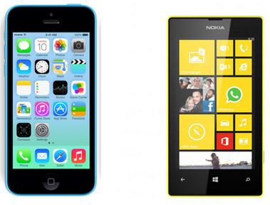 نوکیا رسما عرضه  iPhone 5c هشت گیگابایتی را مسخره دانست!