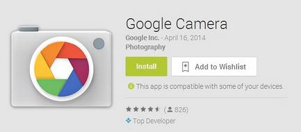 سرانجام اپلیکیشن رسمی عکاسی گوگل برای اندروید منتشر شد!