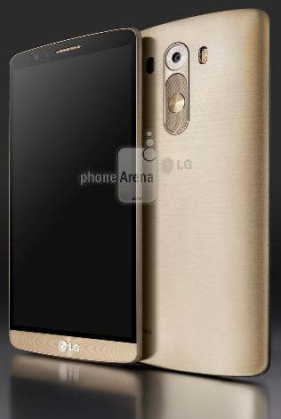 نخستین تصاویر رسمی پرچمدار جدید ال جی ، LG G3