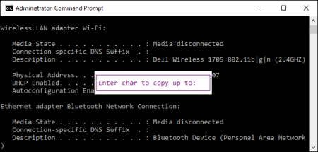 Command Prompt-modify-text