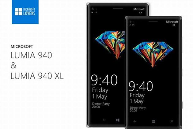 رندرهای جدید Lumia 940 و ۹۴۰ XL