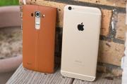 مقایسه دو غول بزرگ : LG G4 و iPhone 6 Plus