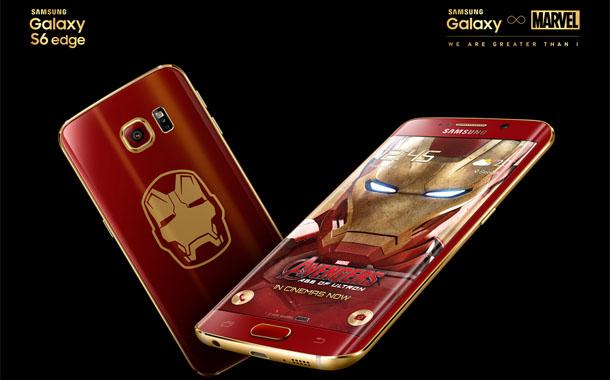 رونمایی از ورژن Iron Man گلکسی اس ۶ اج