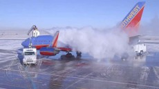یخ زدایی هواپیما