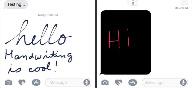 چگونه در iOS 10 پیام دست نوشته ارسال کنیم