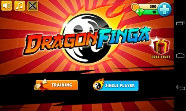 Dragon-Finga-Main-Menu