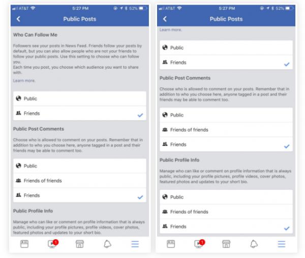 راهنمای تنظیمات حریم خصوصی فیس بوک
